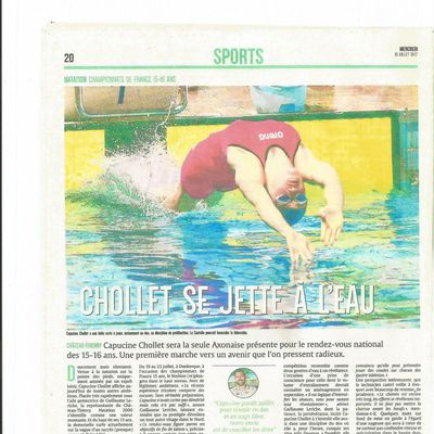 article l'Union journal du 6/07/2017