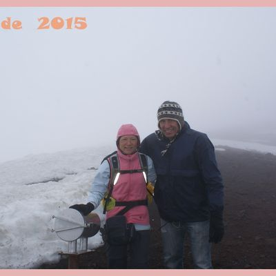 Islande 2015. Ascension du volcan Hekla. Jour 11.