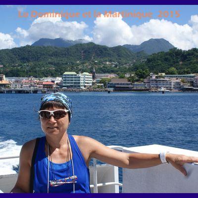 Au revoir La Dominique, retour à la Martinique 2015.