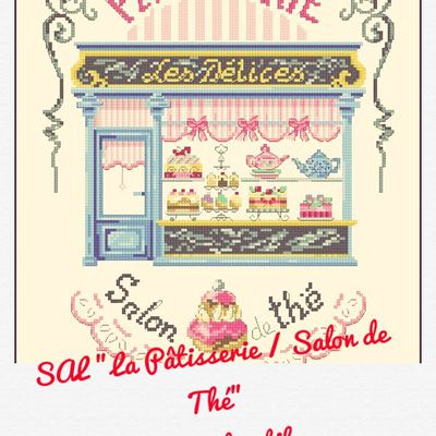 "SAL ""LA PATISSERIE / SALON DE THE"" 6ÈME OBJECTIF TERMINE"