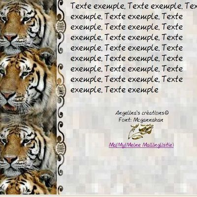 Tigre Animaux Sauvages Incredimail & Papier A4 h l & outlook & enveloppe & 2 cartes A5 & signets 3 langues    ans_1152255225