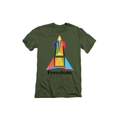 Art panoply. Paradoxical T-Shirt - Freedom -text.