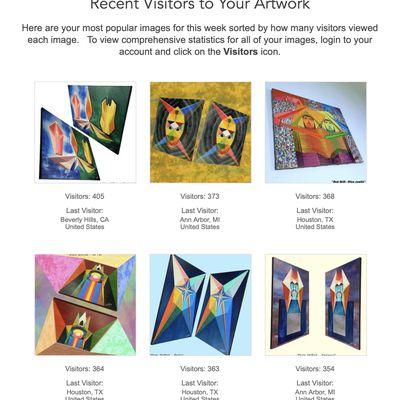 Michaël BELLON - Fine Art America - Weekly Update 02/23