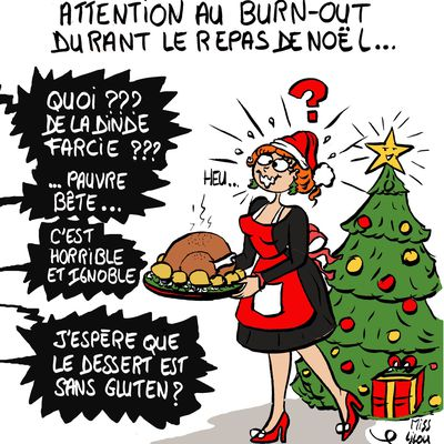 Attention au Burn-out durant le Repas de Noël !