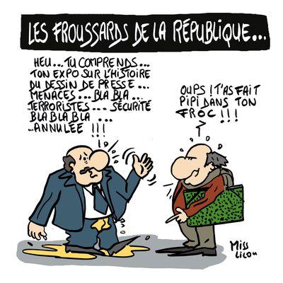 Les Froussards de la République...