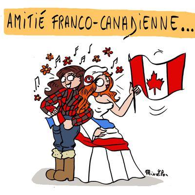 """Amitié franco-canadienne"""