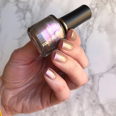 Holographic Cat Eye Nail Polish - Winter Love Song - Born Pretty Store