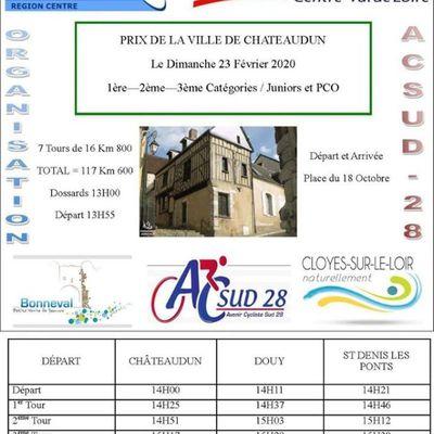 Prix de la Ville de Chateaudun (28) le 23 février 2020