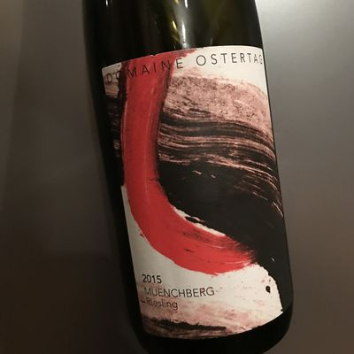 Alsace grand cru Muenchberg riesling 2015 Domaine Ostertag