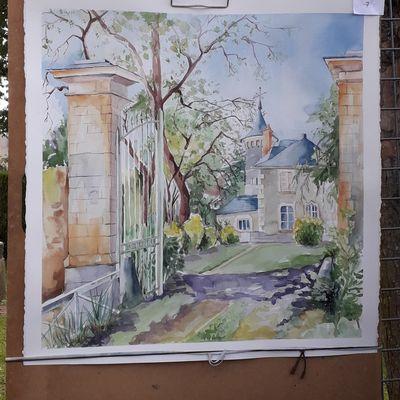 Journée des peintres Saint Denis d'Anjou 23 06 2019