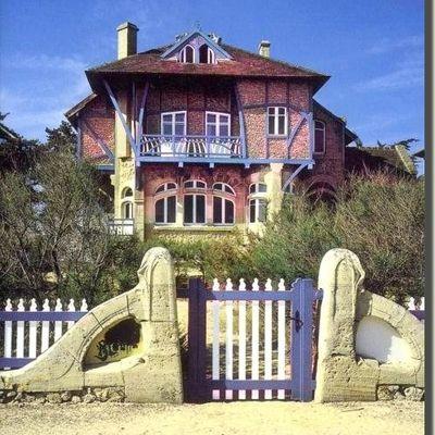 Une maison Art nouveau sur la côté normande