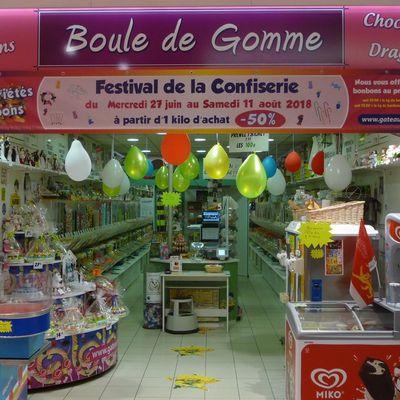 Avant de partir en voyage faîtes le plein de bonbons chez Boule De Gomme Grand-Quevilly !
