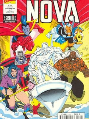 Nova n°202 (Mark Gruenwald, Paul Ryan, Ron Marz, Herb Trimpe, Tom de Falco, Ron Lim)