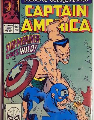 Captain america n°365 (Mark Gruenwald, Kieron Dwyer)