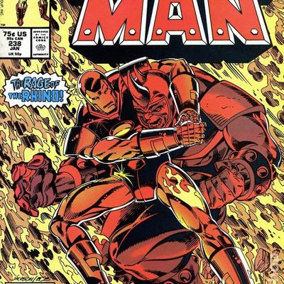Iron-man n°238 (David Michelinie, Jackson Guice)