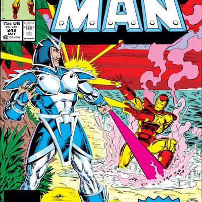 Iron-man n°242 (David Michelinie, Bob Layton, Alan Kupperberg)
