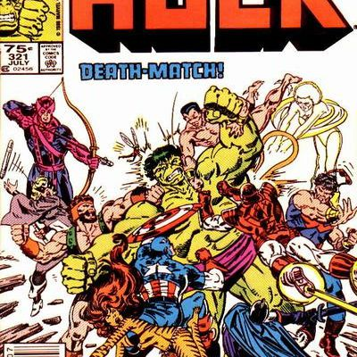 The incredible Hulk, volume 1, numero 321 (Al Milgrom)