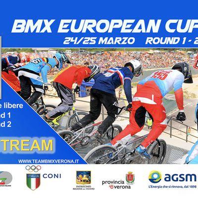 Invitation Coupe d'Europe à Vérone, 24 et 25 mars