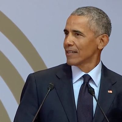 BBC - Mandela lecture: Five things Barack Obama said