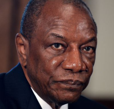 Reuters - Guinea's ruling party nominates President Conde for third term