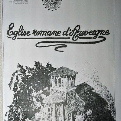 Eglise romane d'Auvergne: 1ère partie