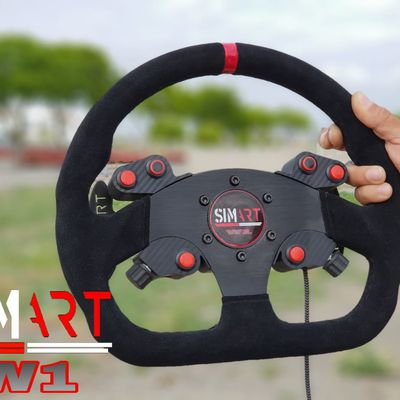 W1 : Le volant low-cost by SIMART