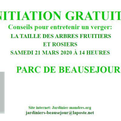 Les Jardiniers de Beauséjour vous invitent !!!