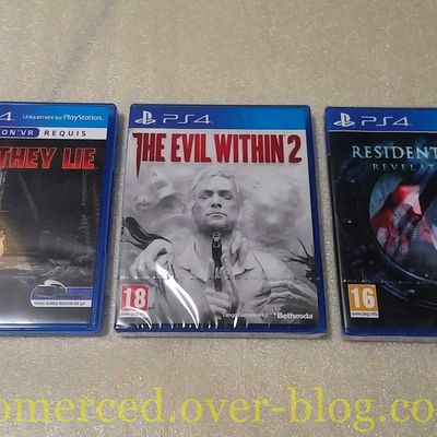 (Arrivage) Arrivage du 14/10/2017 : Here They Lie, The Evil Within 2, RE Revelations