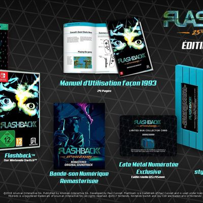 (Switch) Edition collector Flashback 25th Anniversary en précommande