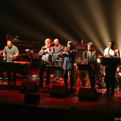 SAN-FRANCISCO JAZZ COLLECTIVE A LA COURSIVE A LA ROCHELLE LE 22/5/2019