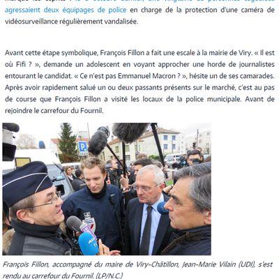 Avec François FILLON, nous soutenons les policiers municipaux