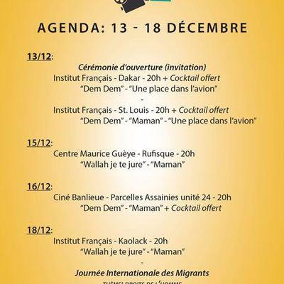 CINEMA : Festival International du Film sur la Migration au Sénégal - 13 décembre 2017