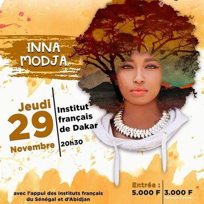 18è ÉDITION FESTIVAL AFRICA FÊTE: Inna Modja à l'Institut français de Dakar et Saint-Louis, 29 novembre et 01 décembre 2018
