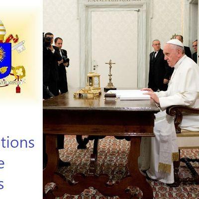 Information : Vatican du 6 juillet 2019