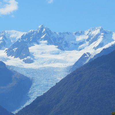 Des glaciers en bord de mer