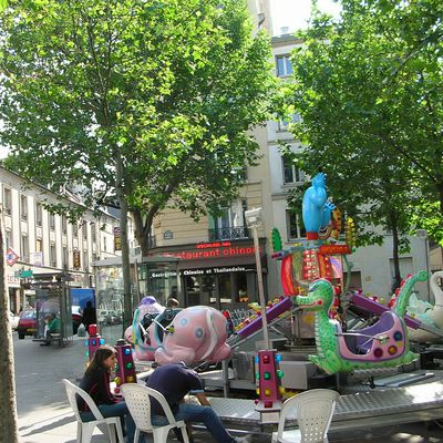 Collecte solidaire place Torcy samedi 22 avril 2017