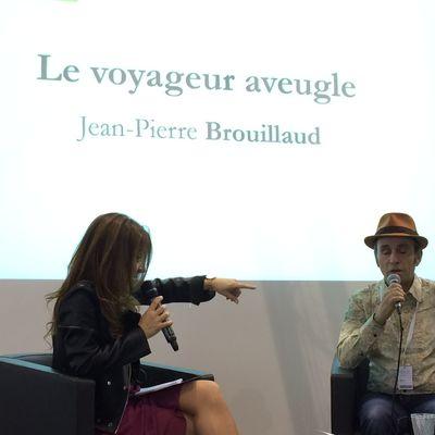 Jean-Pierre Brouillaud écrivain voyageur aveugle et aussi...conférencier