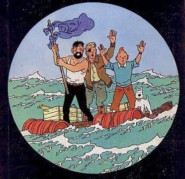 Deux planches de Tintin vendues 364.000 euros aux enchères