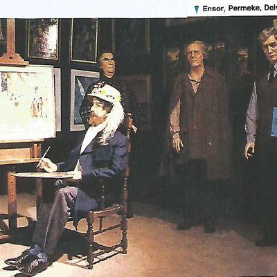 Hergé au musée de cire