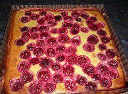 tarte pistaches-griottes