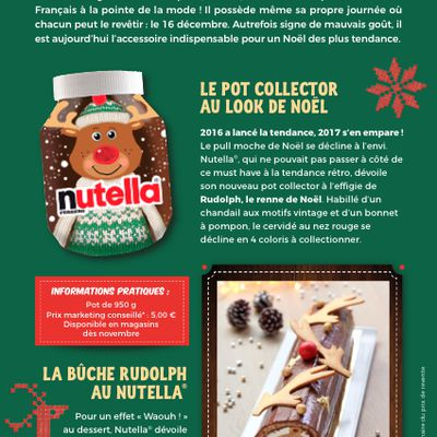 Ferrero Nutella Noël