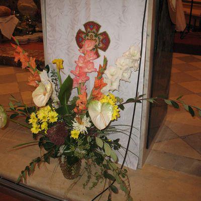 Au sujet du fleurissement de l'église...