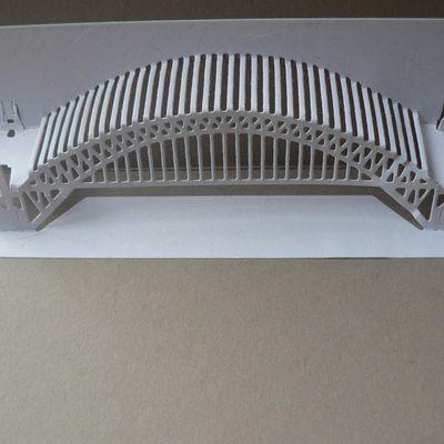 carte Pont en Kirigami