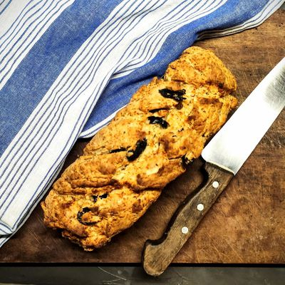 Soda bread aux olives