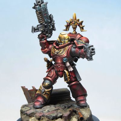 Commission Work: Blood Angels Army