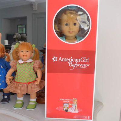 Poupée American Girl : arrivée direct de Dallas (Texas), voici Maryellen Larkin
