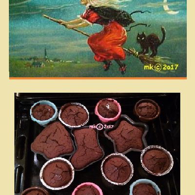 MK's Ephiphany 2017 Gift for You is: Muffins with Chestnut Flour & Sunflowers Seeds.
