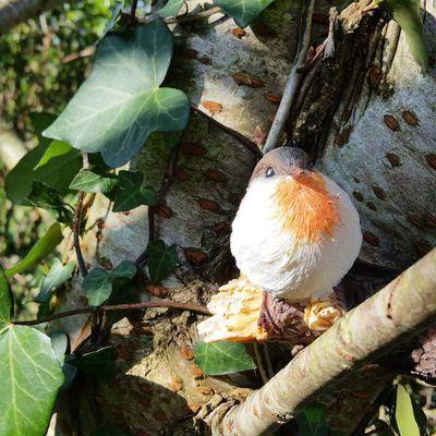 Des petits oiseaux déco bien réalistes...