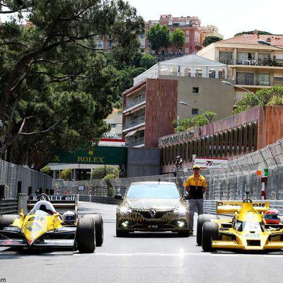 Renault Sport F1, une journée particulière à Monaco