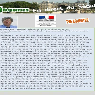 La lettre de Jean-Claude LEROY Sénateur du Pas de Calais